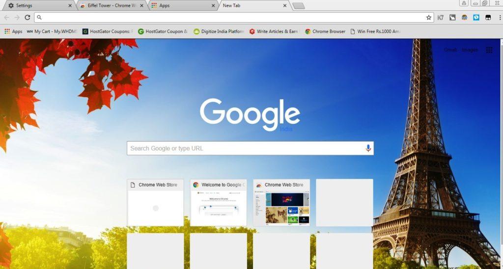 theams of google